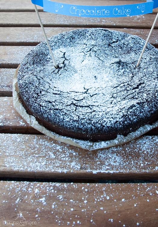 Schokoladenkuchen - Chocolate Cake