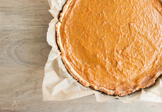 Süsskartoffelkuchen - Sweet Potatoe Pie