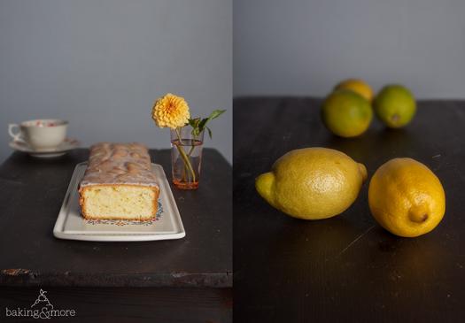 Glasierter Zitronenkuchen - Glazed Lemon Cake