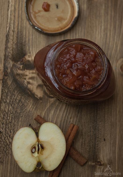 Apfel-Zimt-Marmelade - Apple Cinnamon Jam