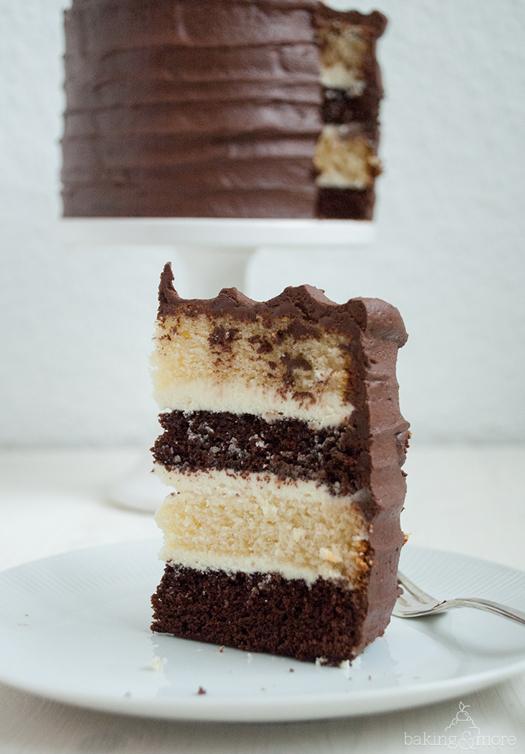 schokoladentorte, cake, chocolate cake, chocolate, schokolade, schoko, weiße schokolade, white chocolate, baking, backen, kuchen, birthday, geburtstag, vanille, vanilla