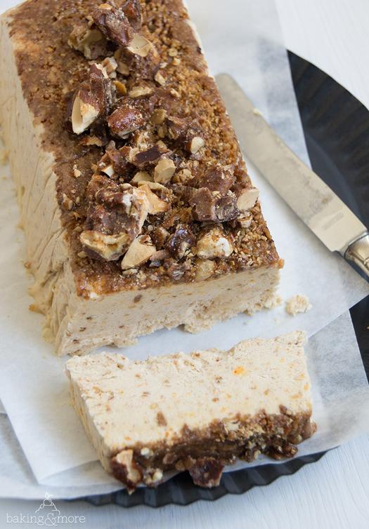 parfait, icecream, eis, dessert, Nachspeise, gebrannte nüsse, candied nuts, nuts, müsse, Gewürze, orange, spices
