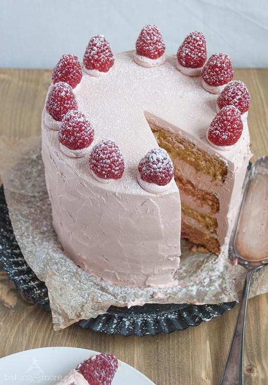 kuchen, cake, himbeeren, raspberries, layer cake, torte, törtchen, zitronen, lemons, backen, baking