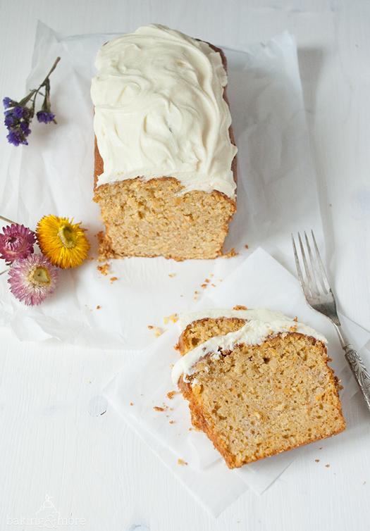 kuchen, cake, karotten, carrots, apple, apfel, nuts, nüsse, karottenkuchen, carrot cake, cream cheese, frosting, frischkäse, kastenkuchen