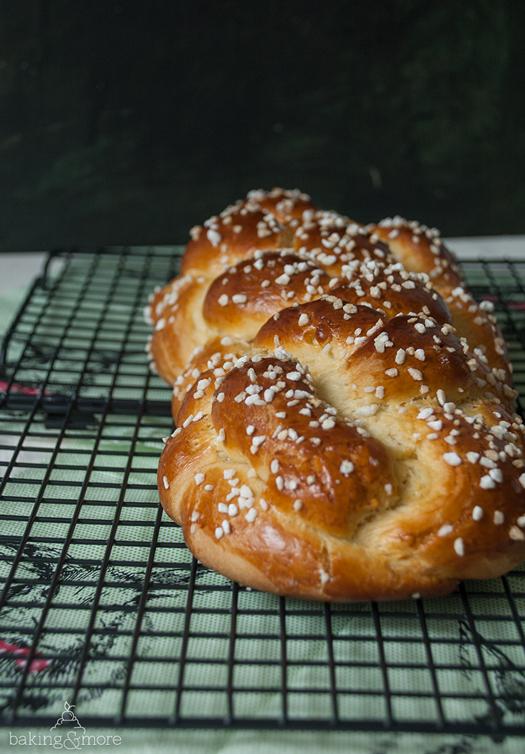 Osterzopf - German Easter Bread