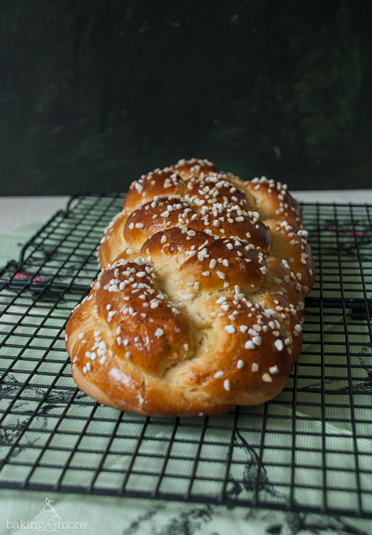 Osterzopf - German Easter Bread