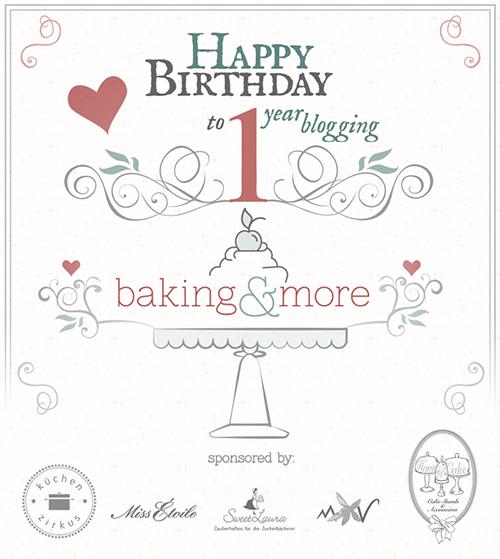 baking&more feiert seinen 1. Geburtstag