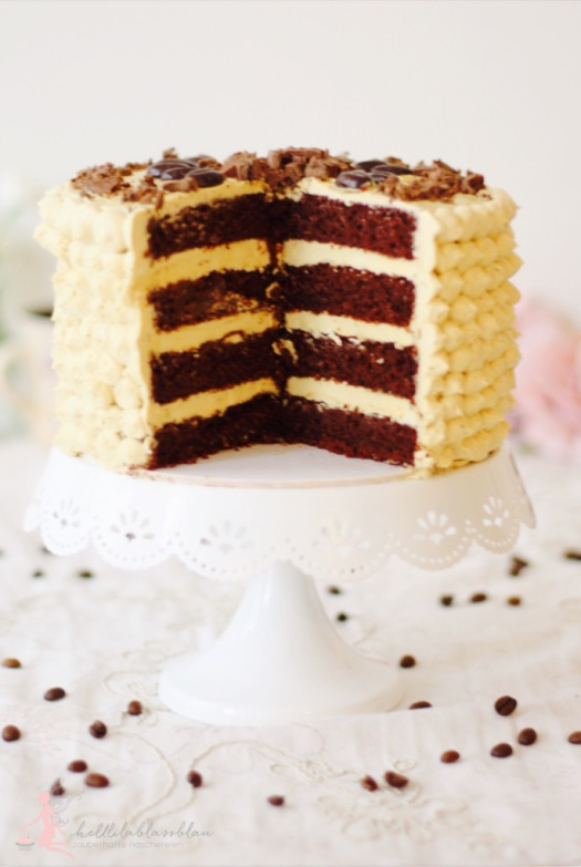 Espresso-Torte mit Tonkabohne
