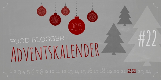 Banner Food Blogger Adventskalender - Türchen 22