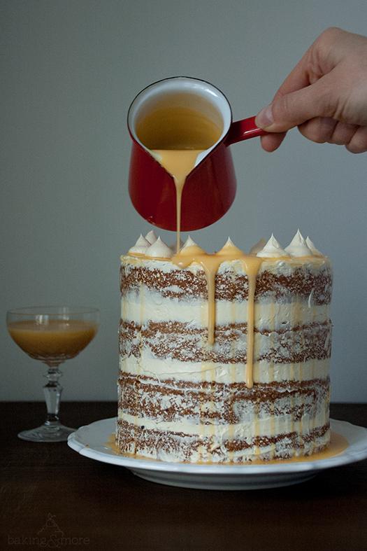 Glutenfreies Eierlikör-Nuss-Törtchen {Gluten-free Egg Liqueur Nut Cake}