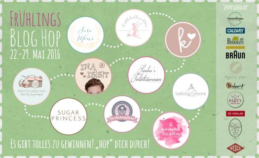 Banner der teilnehmenden Blogs - Frühlings-Blog-Hop
