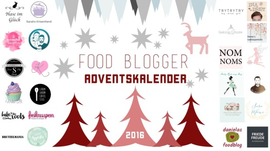 Banner Food Blogger Adventskalender 2016