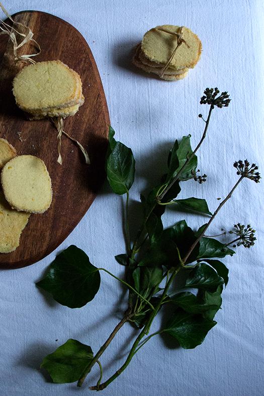 Heidesand mit Vanille & Orange - Sugar Cookies with Vanilla & Orange