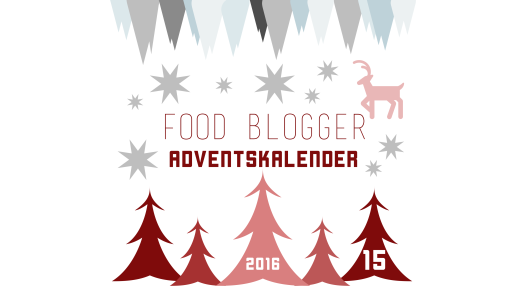 Food Blogger Adventskalender 2016 - Türchen Nummer 15