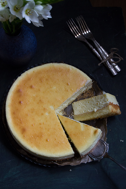 Käsekuchen - New York Cheesecake